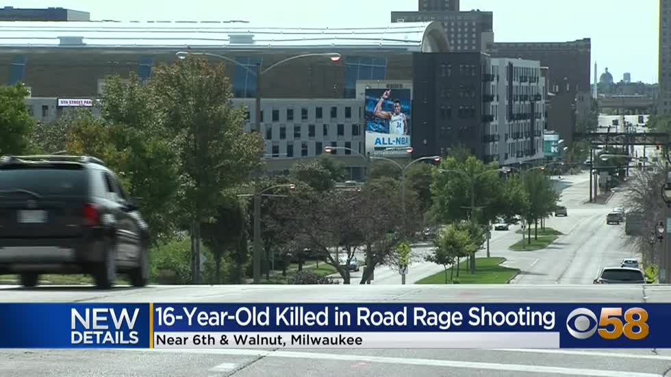 ' 16-year-old fatally shot during road rage incident in Milwaukee